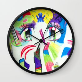 Compoze the Eyez Wall Clock