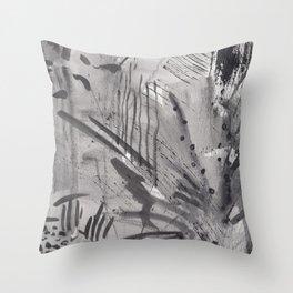 curious bush Throw Pillow