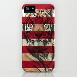 Malaysian Flag and Malayan Tiger iPhone Case