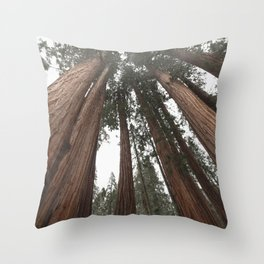 Sky Climbers - Sequoia Throw Pillow