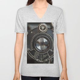 Photographers Dream II Vintage Camera Unisex V-Neck