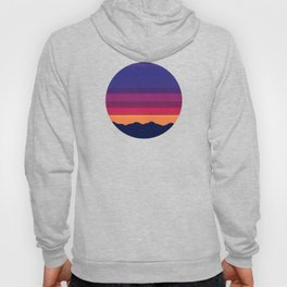 Over The Sunset Mountains IV Hoody
