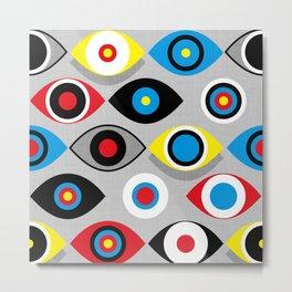 Eye on the Target Metal Print