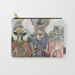 Holy Cow, Deer God, Oh My Dog Carry-All Pouch