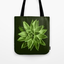 Greenery succulent Echeveria agavoides flower Tote Bag
