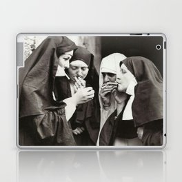 Nuns Smoking Laptop & iPad Skin