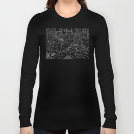 Nocturnal Animals of the Forest Long Sleeve T-shirt