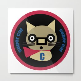 Super Cat  Metal Print