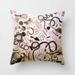 Inventory Throw Pillow