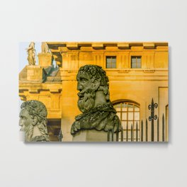 Emperors Head at Oxford University England Metal Print