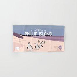 Do Not Visit Phillip Island Hand & Bath Towel