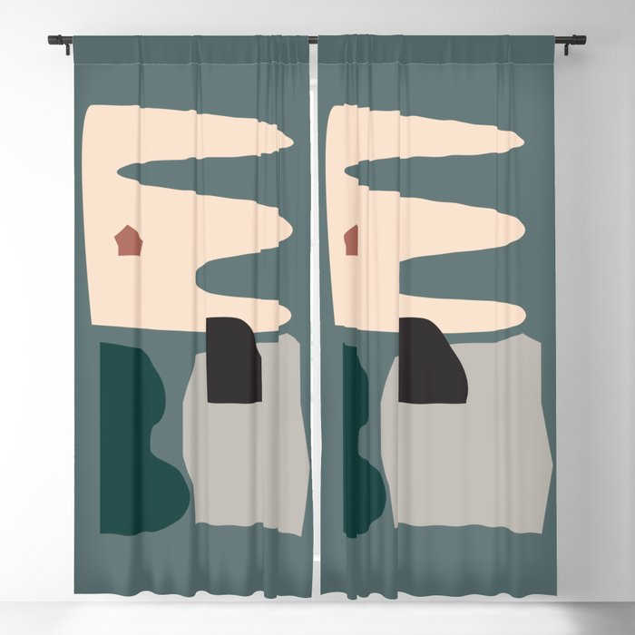 // Shape study #21 Blackout Curtain