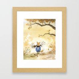 L'Abri - Cover Framed Art Print