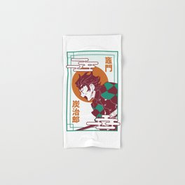 Kimetsu no yaiba Hand & Bath Towel