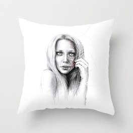 Self-destruction: expose Throw Pillow