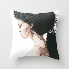Torn to shreds Throw Pillow