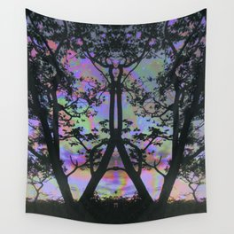Nature is upset with us Wall Tapestry