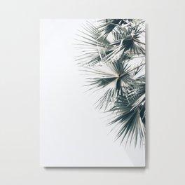 Right Palm Leaves Metal Print