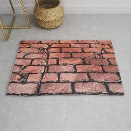 Vintage Brick Street Rug