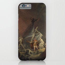 Aeneas and the Sibyl iPhone Case