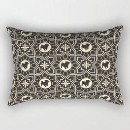 Pug Pattern 2 Rectangular Pillow