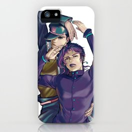 Kujo Jotaro and Kakyoin Noriaki iPhone Case