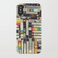 VHS iPhone X Slim Case
