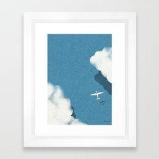 Over the sea Framed Art Print