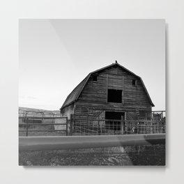 Grandpa's Barn Metal Print