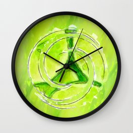 A twist of lime Wall Clock