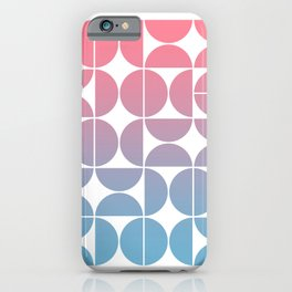 Geometric Gradient 01 iPhone Case