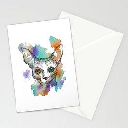 Sphynx cat Stationery Cards