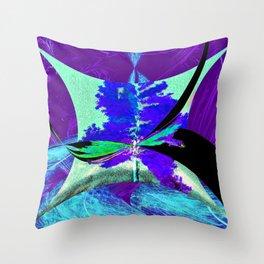 Temporal Warp Throw Pillow