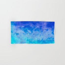 Sweet Blue Dreams Hand & Bath Towel