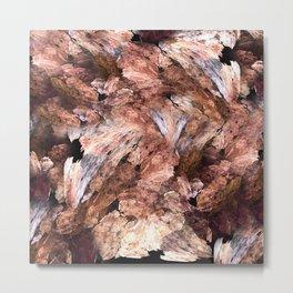 Abstract Almond  Metal Print