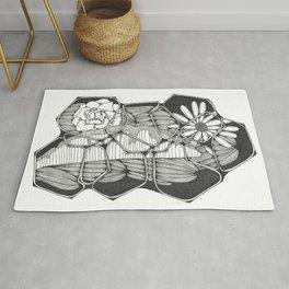 Flower Puzzle Rug