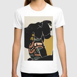 Black Hair No. 10 T-shirt
