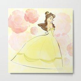 Belle: Beauty. Metal Print