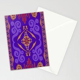 Aladdin Purple Magic Carpet Stationery Cards