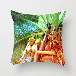 Stay High And Fresh Throw Pillow