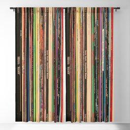 Alternative Rock Vinyl Records Blackout Curtain