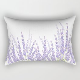 Lavender in the Field Rectangular Pillow