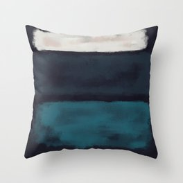 Rothko Inspired #17 Throw Pillow