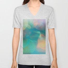Abstract Defocused Background Unisex V-Neck