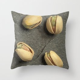 Pistachios Throw Pillow