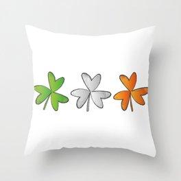 Shamrock Irish St Patricks Day Throw Pillow