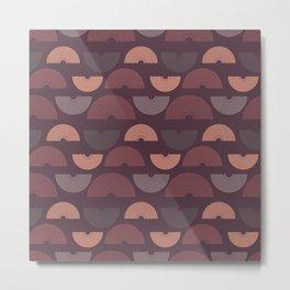 Bohemian rainbow pattern Metal Print