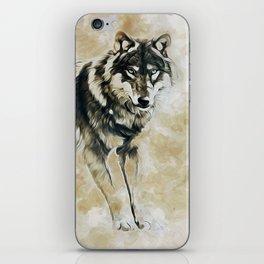 Timber Wolf iPhone Skin