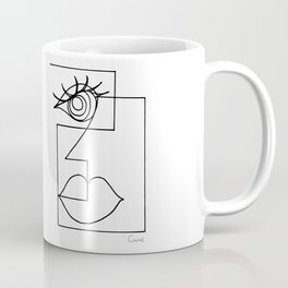 Picasso Woman. Coffee Mug