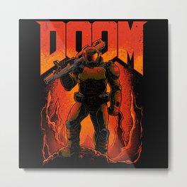 Doomguy Metal Print